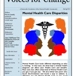 Voices For Change - Spring 2012 - Mental Health Care Disparities