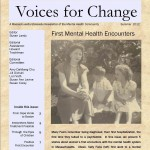 Voices For Change - Summer 2012 - First Mental Health Encounters