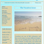 Voices For Change - Winter 2012 - The Vacation Issue
